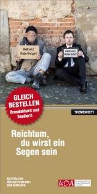 Titelblatt der KDA Broschüre zum Buß- und Bettag 2013